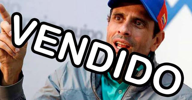 Capriles confirma que mantiene conversaciones con Turquía y el Régimen