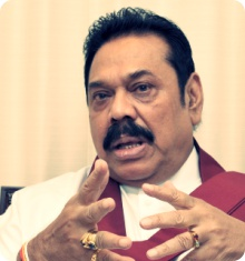 """Maithri can't carry on for 6 years ... only 5;   if it's 6 ... then Presidentship is valid for me"" -- Mahinda Rajapaksa"
