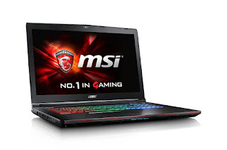 Powerful Gaming Laptop MSI VR Ready GE72VR Apache Pro-009