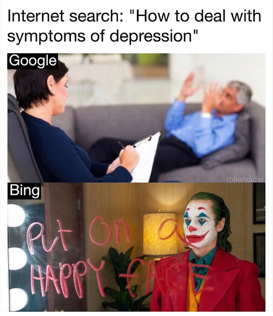 meme google vs bing