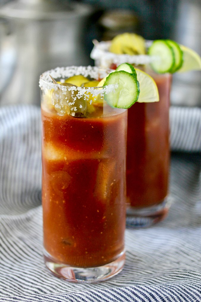 Wasabi Mary {Spicy Bloody Mary}