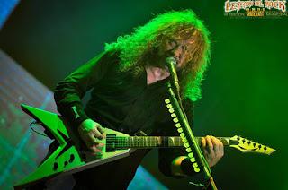 Dave Mustaine - Megadeth, Leyendas Del Rock 2017