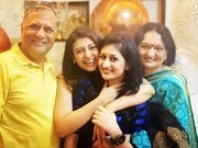 juhi parmar with her family