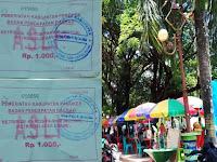 Diduga Pungli, Forlak Sorot Retribusi Pedagang Kaki Lima Memakai Karcis Parkir Motor