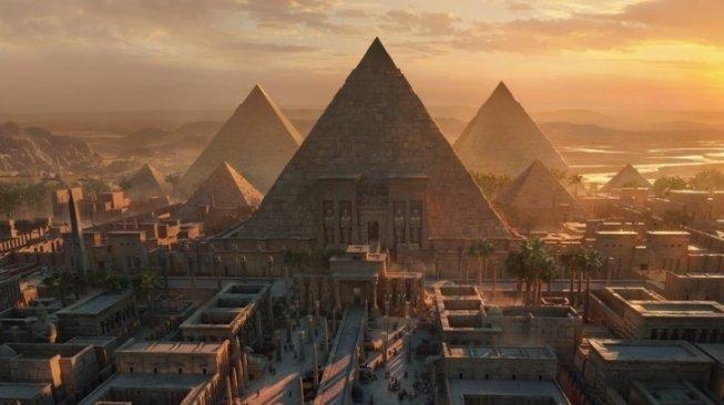 Ilustrasi Mesir Kuno. Foto via Suara.com
