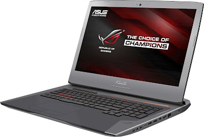 Spesifikasi Laptop Gaming ASUS ROG G752VS