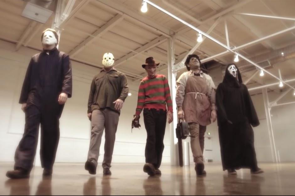 Ícones do terror se tornam uma boy band em paródia de Backstreet Boys