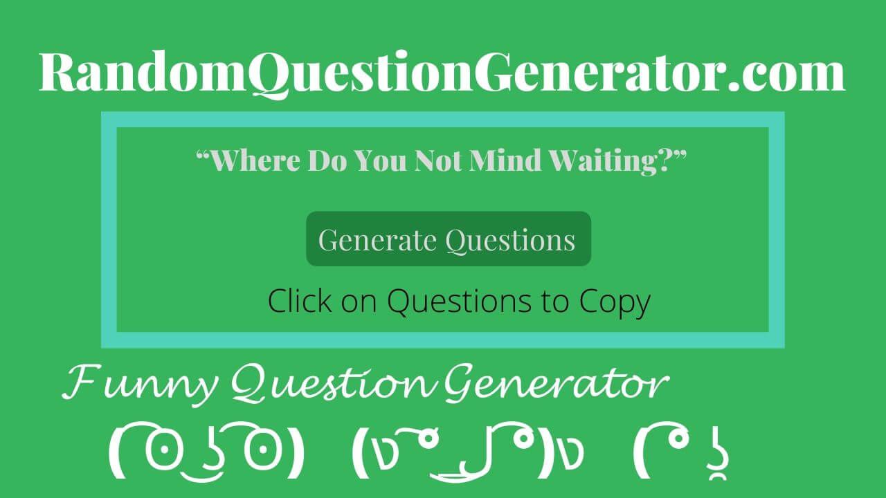 random-question-generator