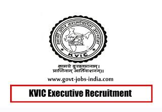 KVIC Executive Recruitment 2019