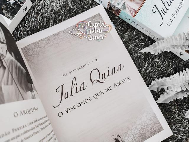 Resenha: O visconde que me amava - Julia Quinn