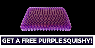 purple mattress squishy
