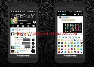 Download BBM MOD D-Chat Terbaru Generations of BBM FBUI Terbaru