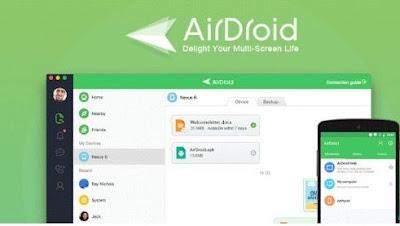 aplikasi hack wa - Air Droid & Application Hider