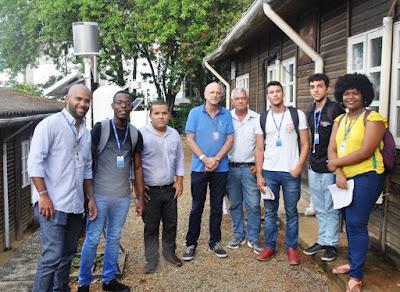 Estudantes de Geografia visitam a Superintendência Regional de Salvador