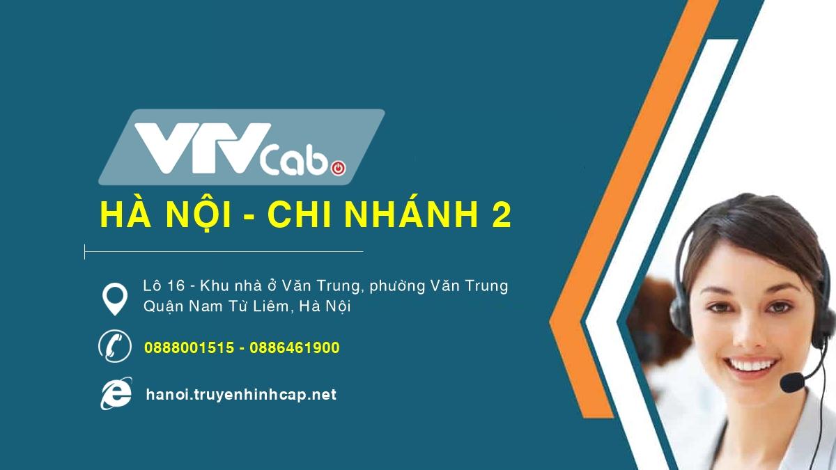 VTVCab Hà Nội - Chi nhánh 2 - Quận Nam Từ Liêm