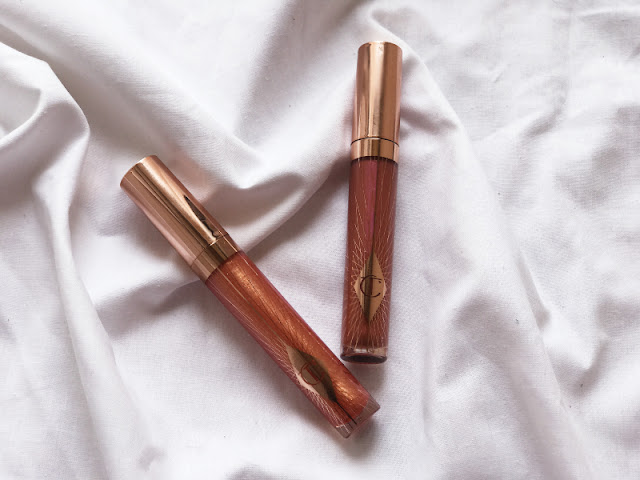 Charlotte Tilbury #Glowgasm Collection Review Swatches