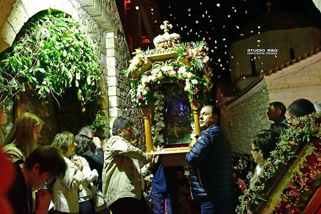 Πανηγυρίζει η Ιερά Μονή Αγίου Δημητρίου Καρακαλά στην Αργολίδα (βίντεο)