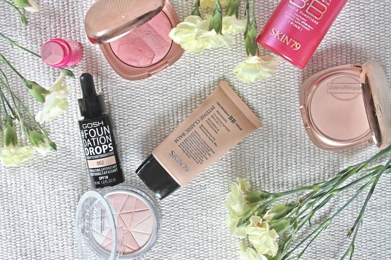 Trusted Cosmetics- opróżniamy nasze kosmetyczki. #3- Kosmetyki do makijażu.