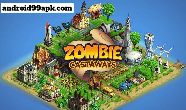 لعبة Zombie Castaways v4.12 مهكرة كاملة بحجم 122 MB للأندرويد
