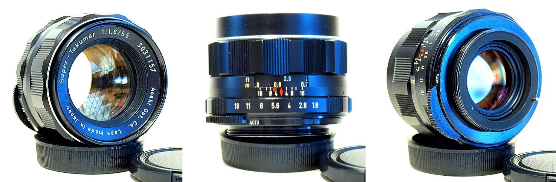Super Takumar 55mm 1:1.8 #157 M42 mount
