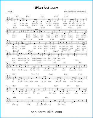 Wives and Lovers chords jazz standar