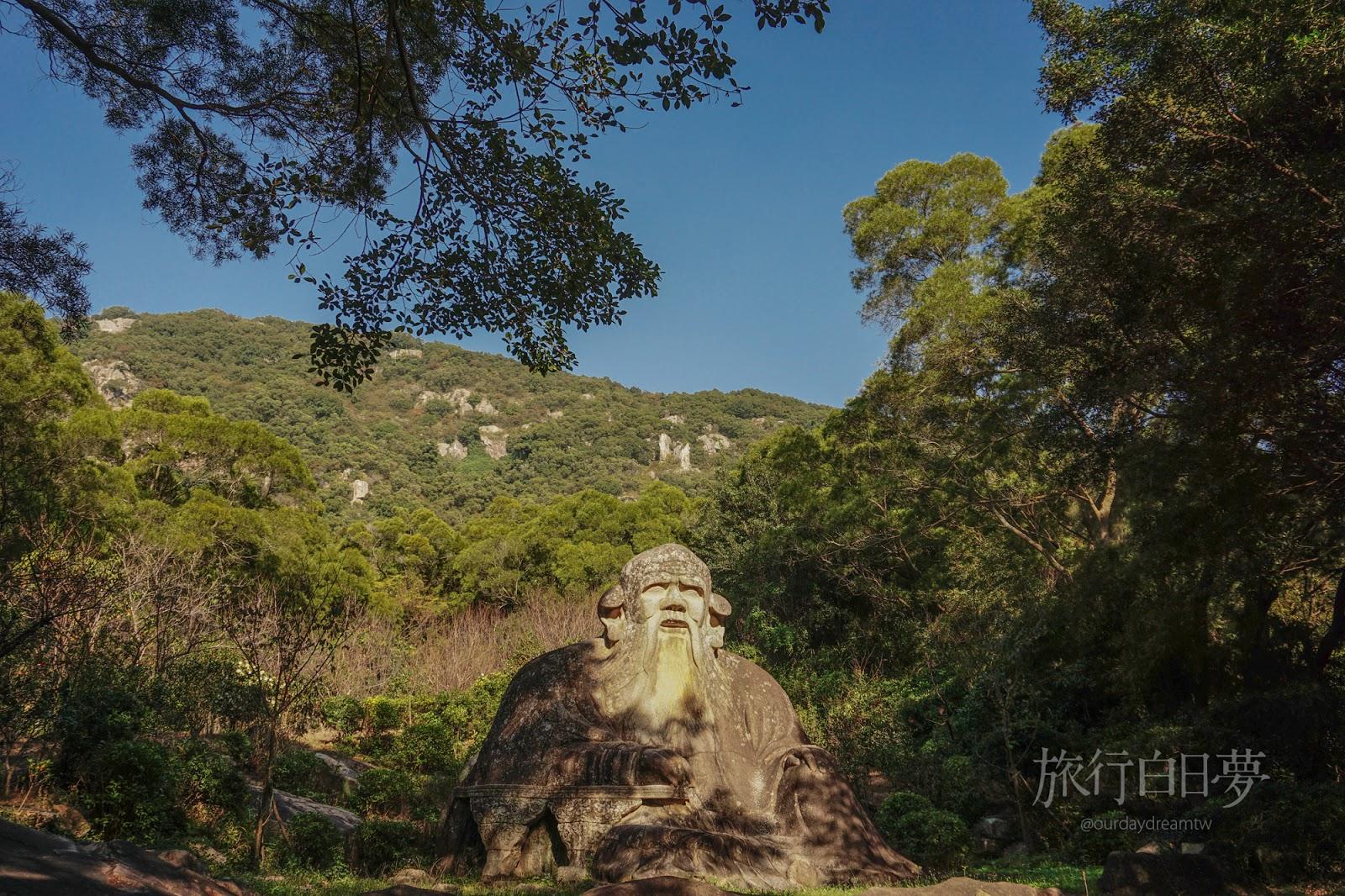 福建泉州│泉州後花園「清源山」 神秘巨石老君岩與宗教遺跡