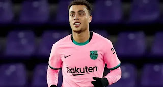 Barcelona right-back Sergino Dest admits he's lacking confidence