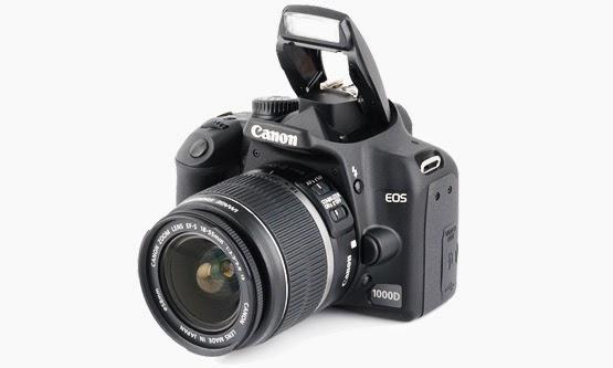 Harga dan Spesifikasi Kamera Canon 1000D Terbaru
