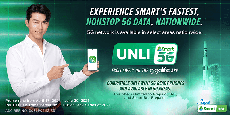 Smart makes UNLI 5G promo available nationwide, even for Rocket WiFi users!