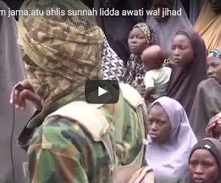 Watch New Video Showing Chibok Girls Released By Boko Haram Today