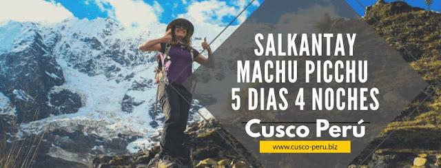 Salkantay 5 dias