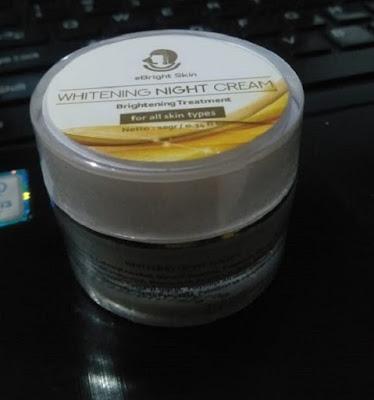 Night Cream eBright Skin