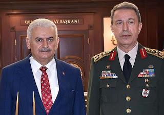 ο πρωθυπουργός της Τουρκίας, Μπιναλί Γιλντιρίμ