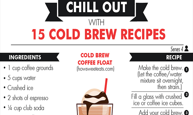 The Cold Brew Coffee Ultimate Guide #infographic