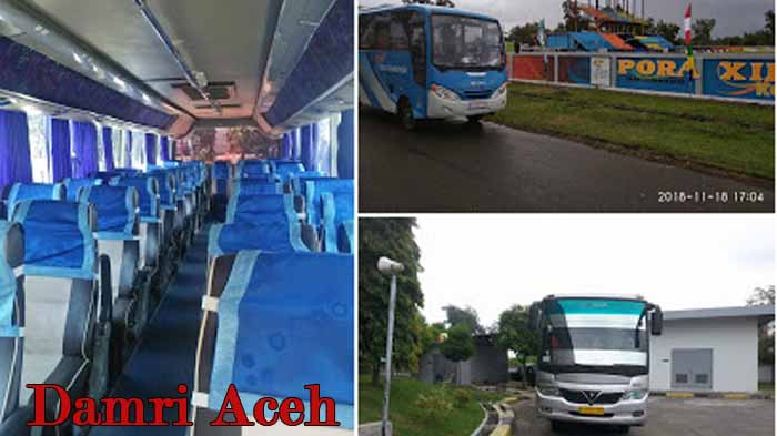 Damri Aceh Rute Harga Tiket Dalam Kota Dan Medan Bus Damri