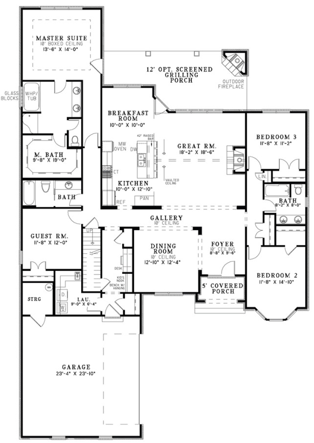 Tremendous Large Open Floor Plans Well Open Kitchen Floor Plan Together With Largest Home Design Picture Inspirations Pitcheantrous