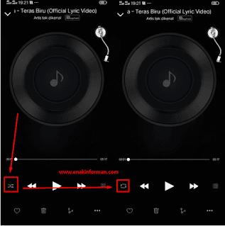 Cara Memutar Musik Berurutan di HP Vivo