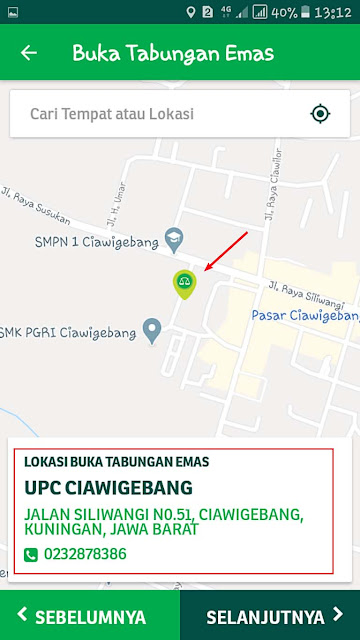 UPC pegadaian ciawigebang