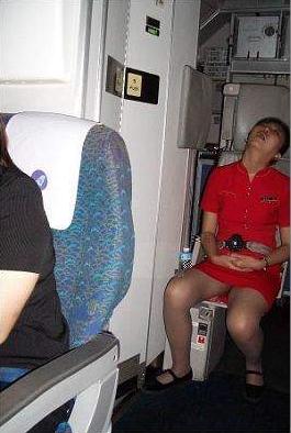 Gambar Keadaan Tempat Tidur Pramugari Dalam Kapal Terbang