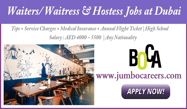 Urgent Dubai restaurant jobs in Dubai, New job openings in Dubai,