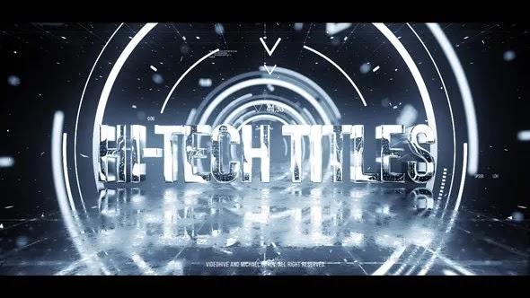 Videohive Hi-Tech Titles 23188156