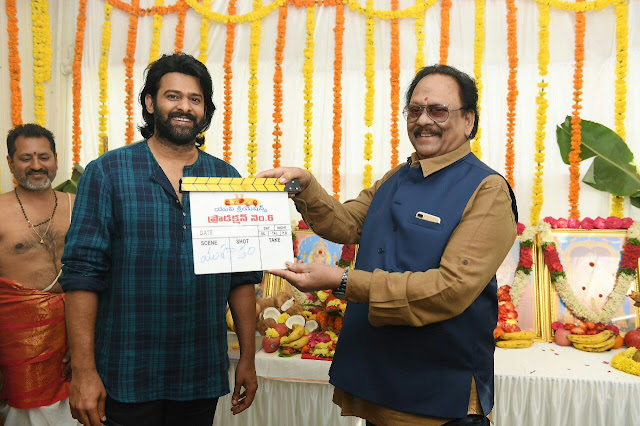 Prabhas - Sujeeth new film launched Photos