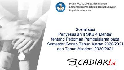 Sosialisasi SKB 4 Menteri Paud Dasmen Pdf