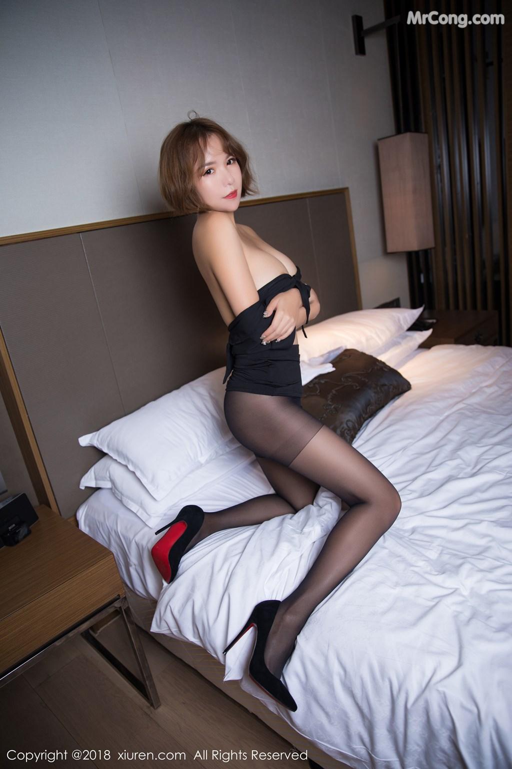 Image XIUREN-No.1264-Ya-Wen-MrCong.com-060 in post XIUREN No.1264: Người mẫu Ya Wen (雅雯) (61 ảnh)