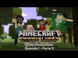 Baixar Minecraft Story Mode (Episode 1, Parte 5) PS3 Torrent