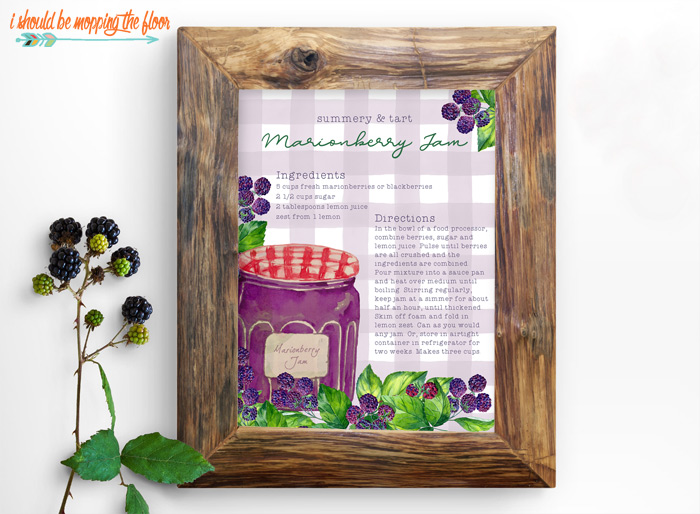Decorative Recipe Illustration