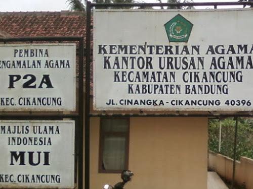 Alamat KUA di Kabupaten Bandung