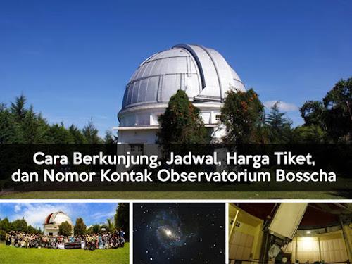 Cara berkunjung ke Observatorium Bosscha di Lembang