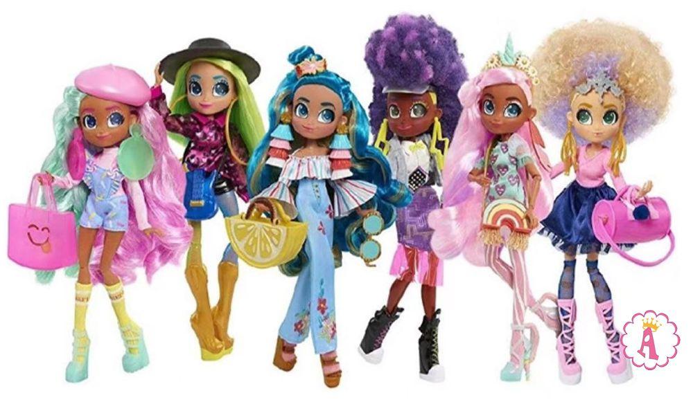 Вся коллекция шарнирных кукол Hairdorables Hairmazing