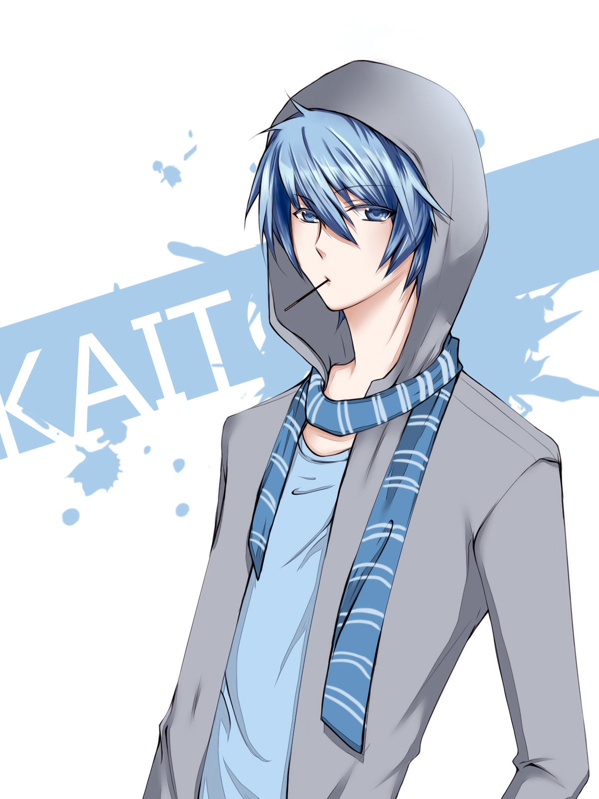 asia♥sweetheart: [Pictures] Vocaloid corner IVVocaloid Kaito